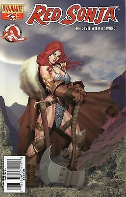 Red Sonja #25 (NM)`07 Oeming/ Reed/ Homs  (Cover B)