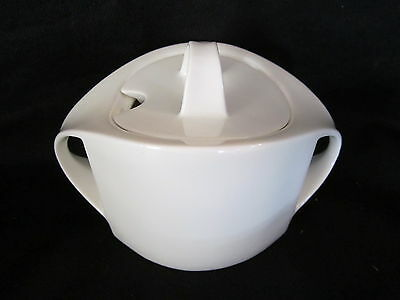 Villeroy & Boch - ALBA WHITE - Covered Sugar Bowl BRAND NEW