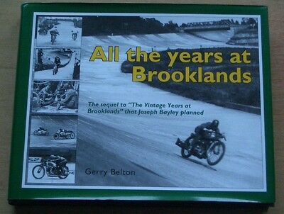 """""""all The Years At Brooklands"""" - 2007 First Edition Book - Vgc - Free Post To Uk"""