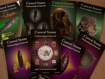 8 Journal Publications Of The Central States Archaeological Society 2003, 2004