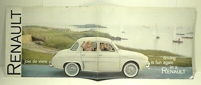 1960 Renault Advertising Booklet