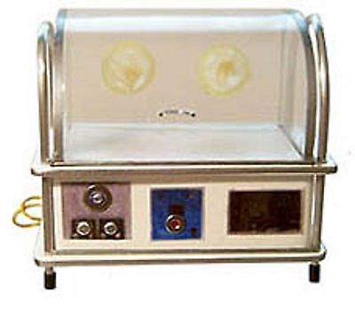 Doll miniature handcrafted Medical incubator baby infant child metal 1/12