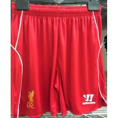 Official Warrior Liverpool Home Shorts Mens Small