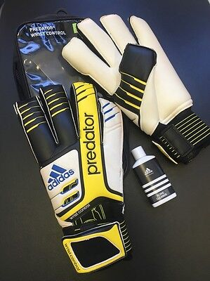 Official Adidas Predator Wrist Control GK Gloves - Size 11