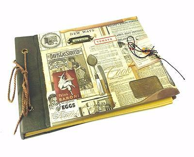 Vintage Style Recipe Notebook Keepsake Gift NBN222