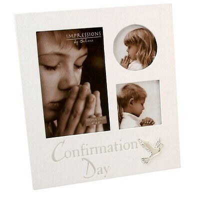 Multi Photo Frame with Dove Confirmation Day  NEW Gift   20046