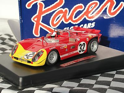 Racer T33/3 Red  #32  Rcr60B 'sebring 12Hrs 1970' 1:32 Scale New Old Stock Boxed