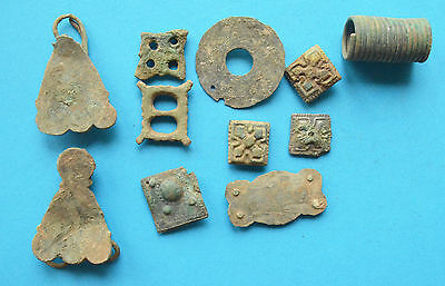 Viking Period decorations for purses and bags