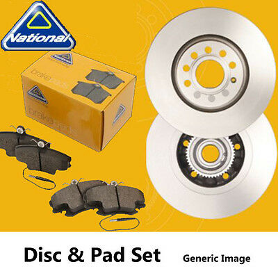 New National Front Brake Disc And Pad Set Ford Galaxy 95  Napkit0069