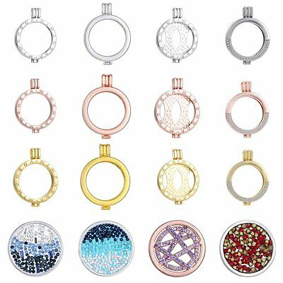 New Stainless Steel Locket Holder Fit For My Coin Necklace fit 33mm Women Gift