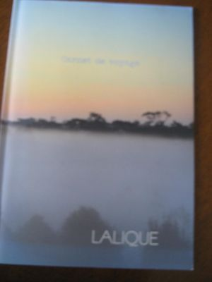 LALIQUE sales brochure booklet French glass classic opaque