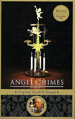 Swedish Angel Chimes, Original 1948 Design, 4 Candles, Brand New in Box