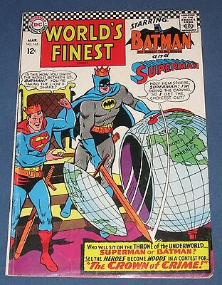 World's Finest Comics #165  March 1967