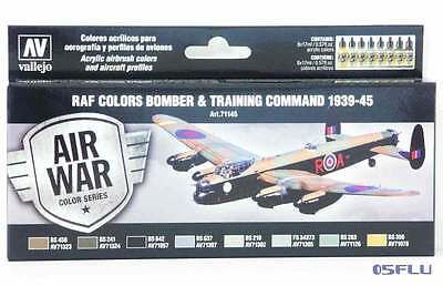 Vallejo 71145 - 8 x17ml - RAF Bomber & Training 1939-1945 - Farbenset - NEU!