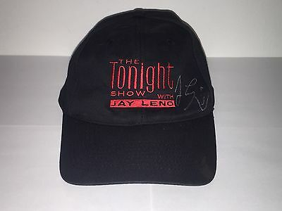 The Tonight Show With Jay Leno Autographed & Signed Baseball Cap + Free Shipping