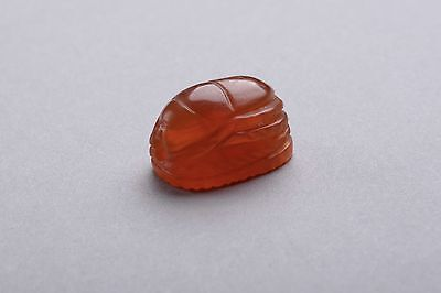 Ancient Etruscan Carnelian Scarab - 350 BC