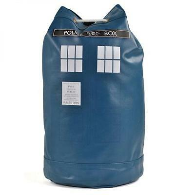 Dr Who - Tardis Duffle Retro Styled Faux Leather Duffle Bag - New & Official BBC