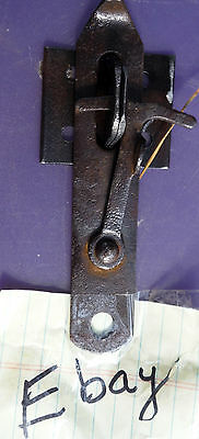 Antique Gothic Rustic Gate or Latch Hasp  for Repurpose projects
