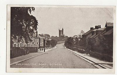 Philpingstone Road Bo'ness 1917 Postcard West Lothian  172a