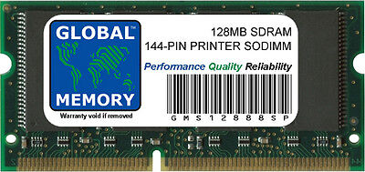 128Mb Sdram 144 Broches Imprimante