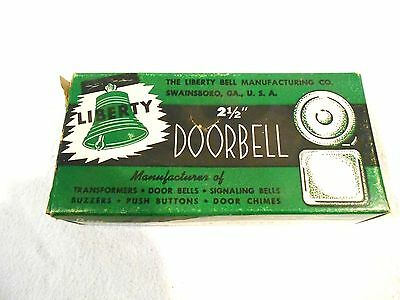 "Liberty 2 1/2"" Doorbell Model #2002 MIB/NOS"
