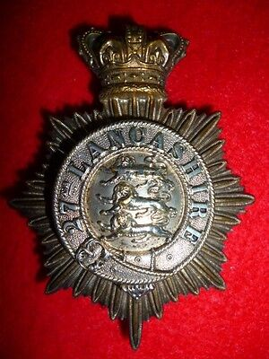 27th (Bolton) Lancashire Rifle Volunteers Victorian Officer's Pouch Badge