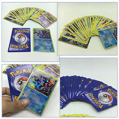 17PCS Pokemon Cards Bulk Lot GUARANTEED Ultra Rare Trading EX Card Set