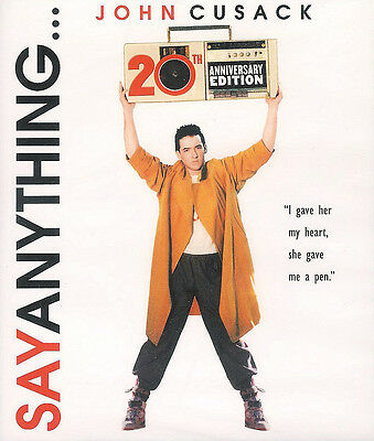 Say Anything ~ 20th Anniversary Edition ~ New Sealed Blu-ray Disc FREE Shipping