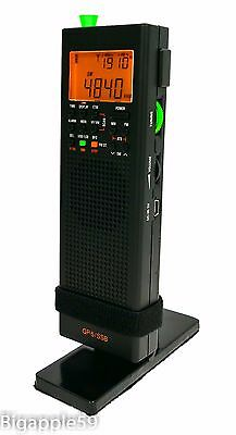 County Comm GP-5/SSB Handheld AM FM SW Radio Receiver & Stand Combo Package