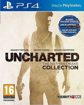 Uncharted The Nathan Drake Collection PS4 playstation 4 jeu jeux game games 2718