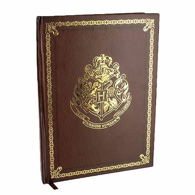 Official Harry Potter Hogwarts Crest Notebook Journal Stationery