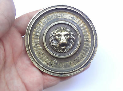 Vintage Solid Brass Door Push & Pull Handle LION'S HEAD # Free Shipping