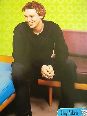 Clay Aiken, Full Page Pinup