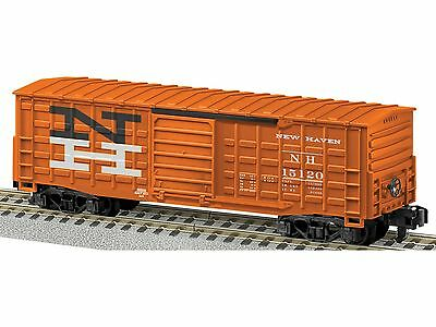AF 6-48856 S New Haven Waffle Sided Boxcar #15120 (vermillion, black, white)