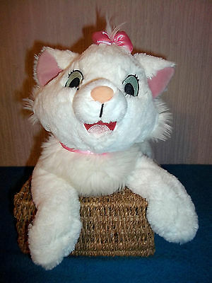"Disneyland - Marie - Aristocats - Large (16"" Approx) Plush, Soft Toy Cat - Vgc"