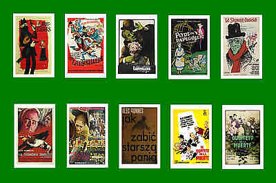 The Ladykillers 1955 - Movie Poster Postcards Set 1