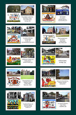 Carry On Films  - Then & Now - Film Locations Postcard Set (1)