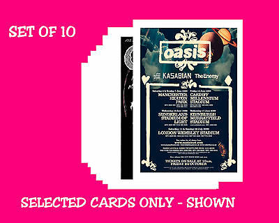 Oasis -  Collection Of 10 Mixed Postcards # 1