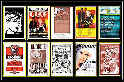 Blondie  -  Collection Of 10 Mixed Postcards # 1