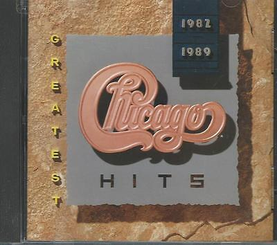 CHICAGO - Greatest Hits 1982-1989 - CD  VG+