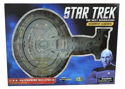 Star Trek Enterprise 1701 D Electronic Starship Diamond Select Art Asylum 16""