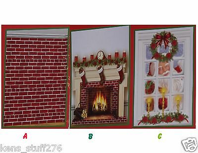 Christmas Wall Mural Scene Setters Photo Props Door Covers Party & Float Decor 1