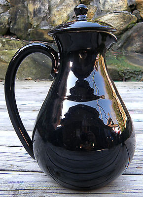 AUSSIE POTTERY by MARTIN BOYD - A LIDDED COFFEE POT