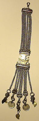 Stunning Middle Eastern Silver Chatelaine