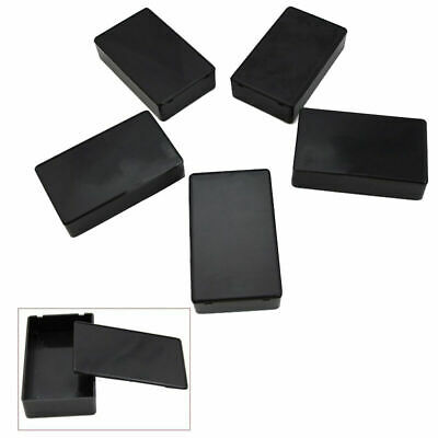 5 Pcs 100*60*25mm Plastic Electronic Project Box Enclosure Instrument Case New