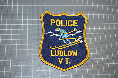 Ludlow Vermont Police Department Patch (T3)