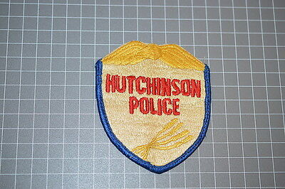 Old Hutchinson Kansas Police Department Patch (T3)
