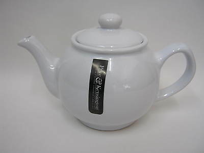 New Price And Kensington White Small Pot Teapot 2 Cup 0056.716