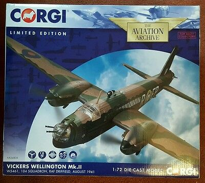 Corgi Aviation Vickers Wellington Mk.II W5461 104 Squadron RAF Driffield AA34806