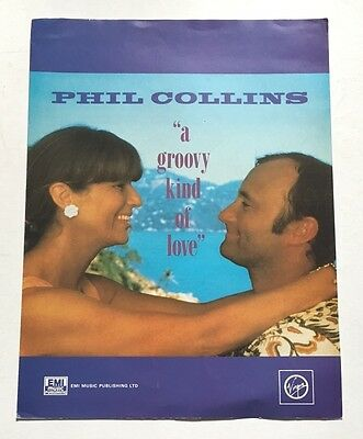 Vintage Sheet Music - A Groovy Kind Of Love, 1988
